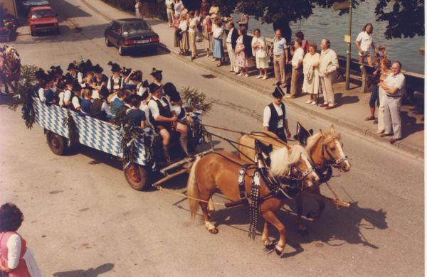 Vereinsjahre 1980 - 1989 - Die Wallberger - Verein zur